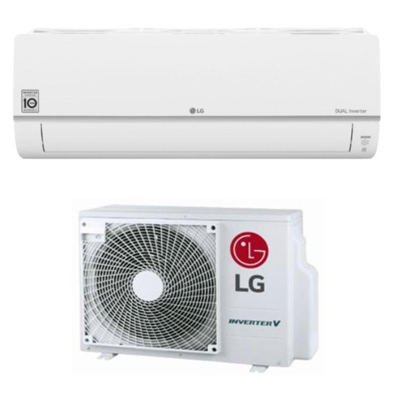 LG Deluxe Plus ilmalämpöpumppu.