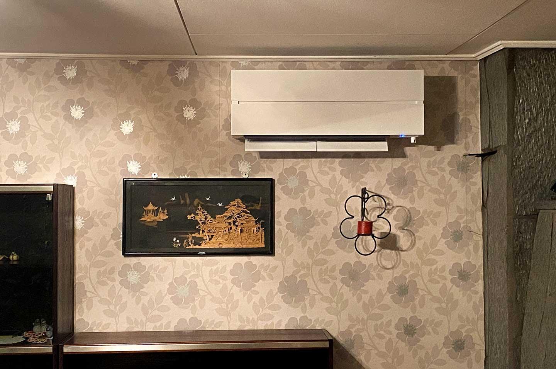 Ilmalämpöpumppu on energia- ja kustannustehokas lämmönlähde kotiin.